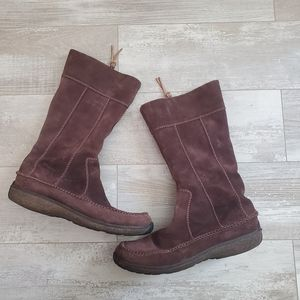 Timberlands Fauna Autumn Tall brown boots